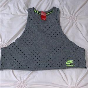 Nike Polk a Dot Crop Top